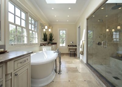 Modern bath remodeling contractor Irvine Ca