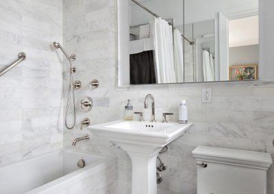 Small bath remodel in Dana Point Ca