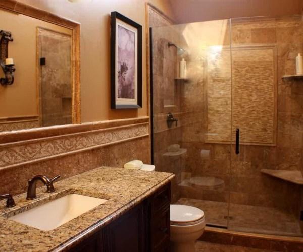 Barnwood Chic Master Bathroom Remodel . . . on a Budget!