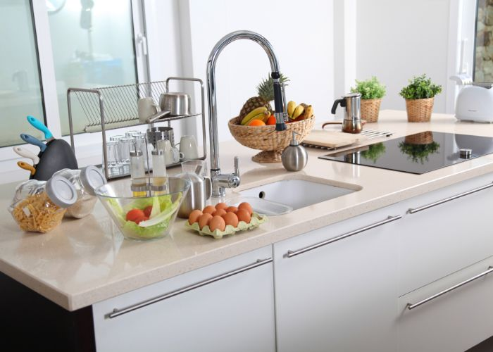 Restotech remodeling kitchen sink in Laguna Hills